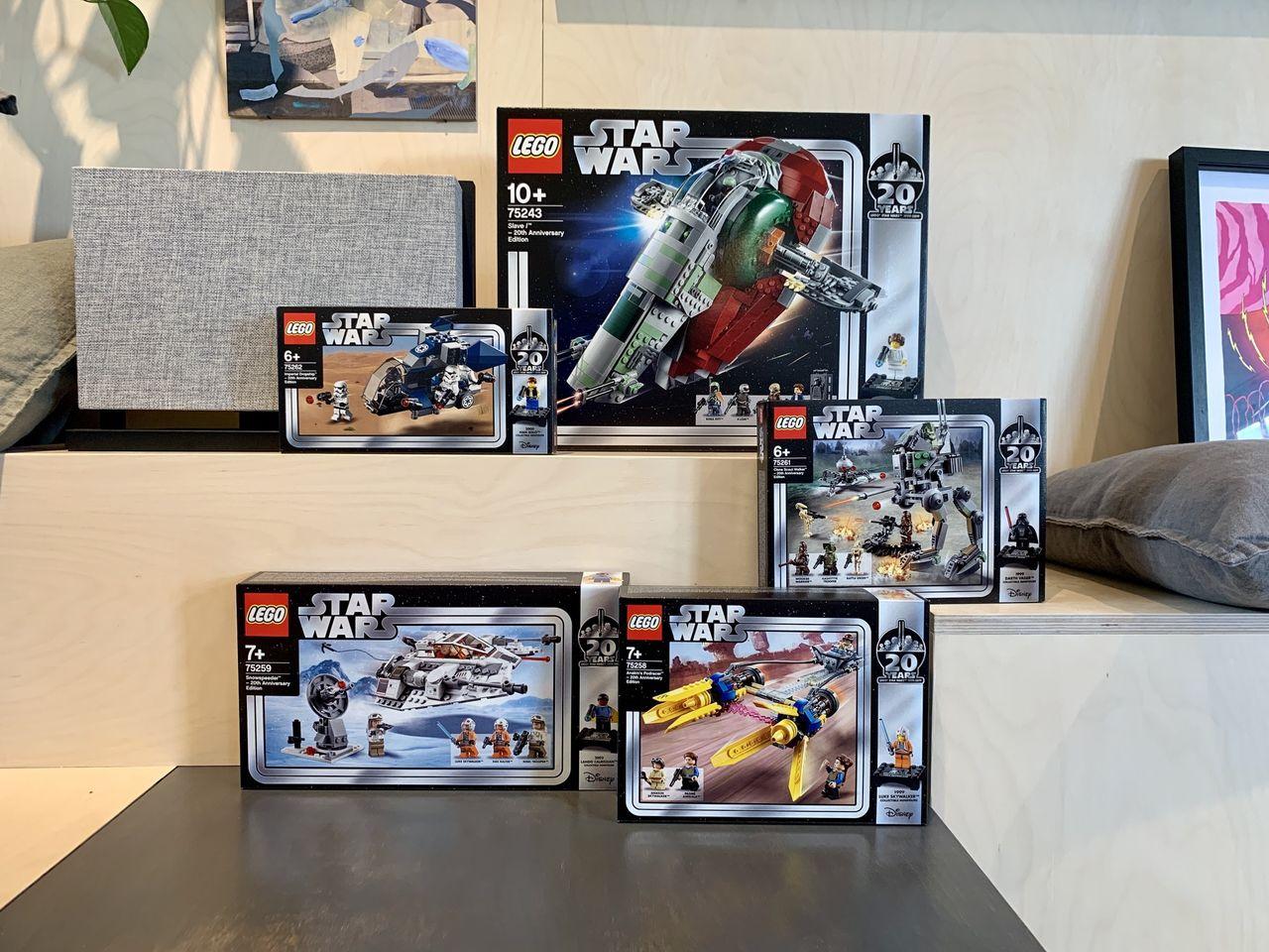 Vinn mängder av Star Wars-Lego!