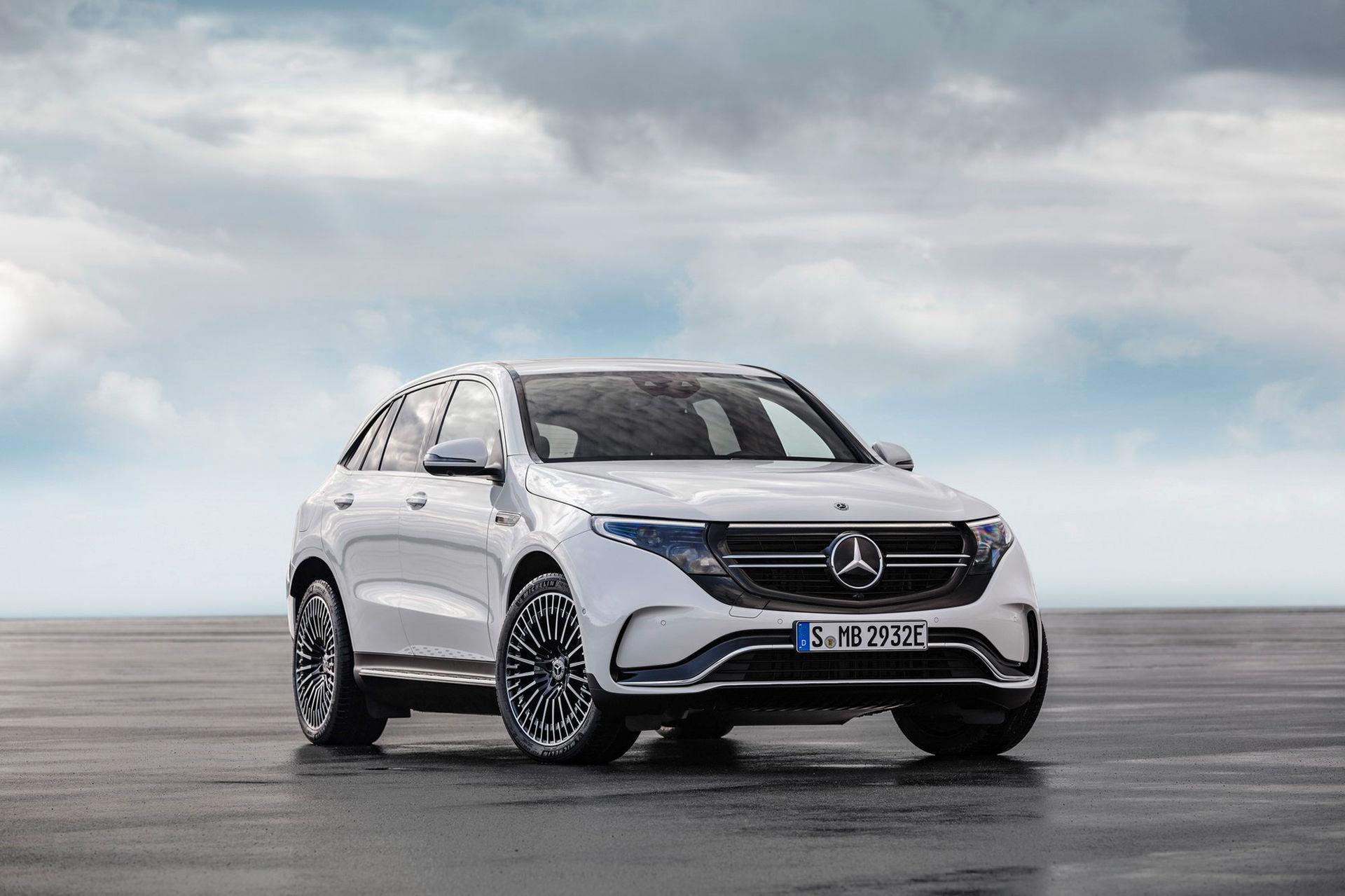 Idag börjar Mercedes sälja elbilen EQC