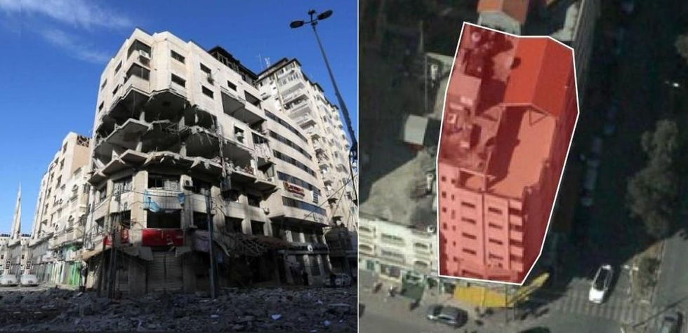 Israel bombade palestinska hackers