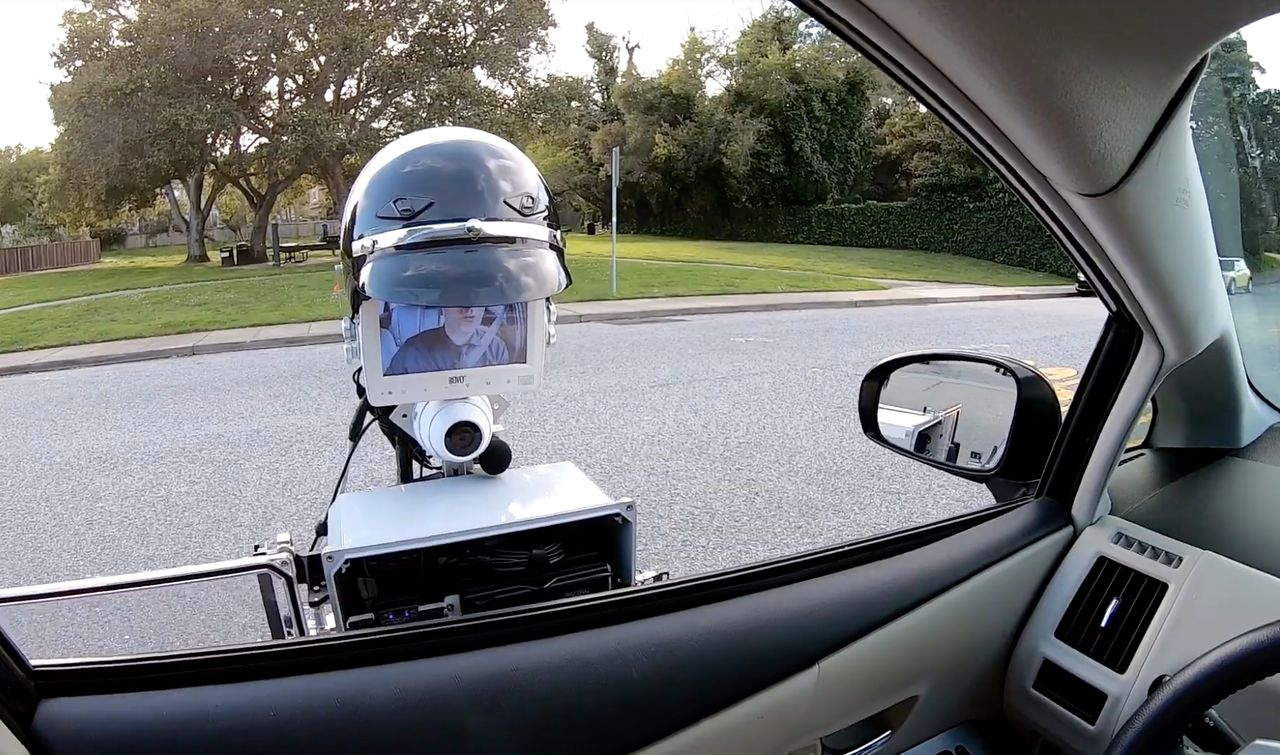 GoBetween Robotics är en RoboCop för trafikpoliser