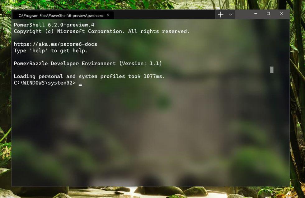 Microsoft presenterar Windows Terminal