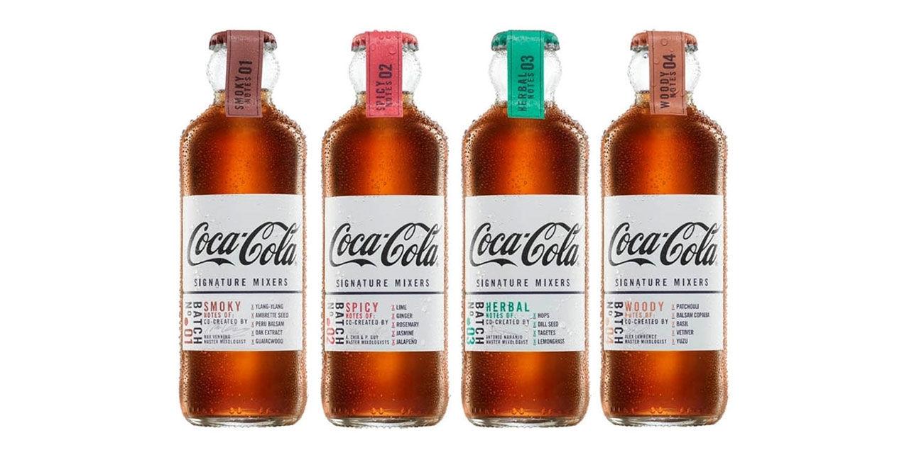Coca-Cola lanserar mix till whisky och rom