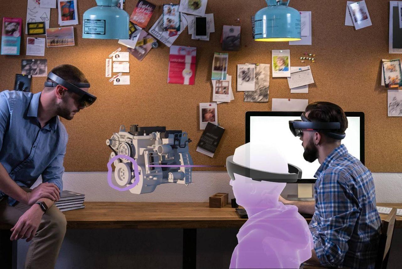 HoloMeeting vill ha att vi ska mötas i mixed reality
