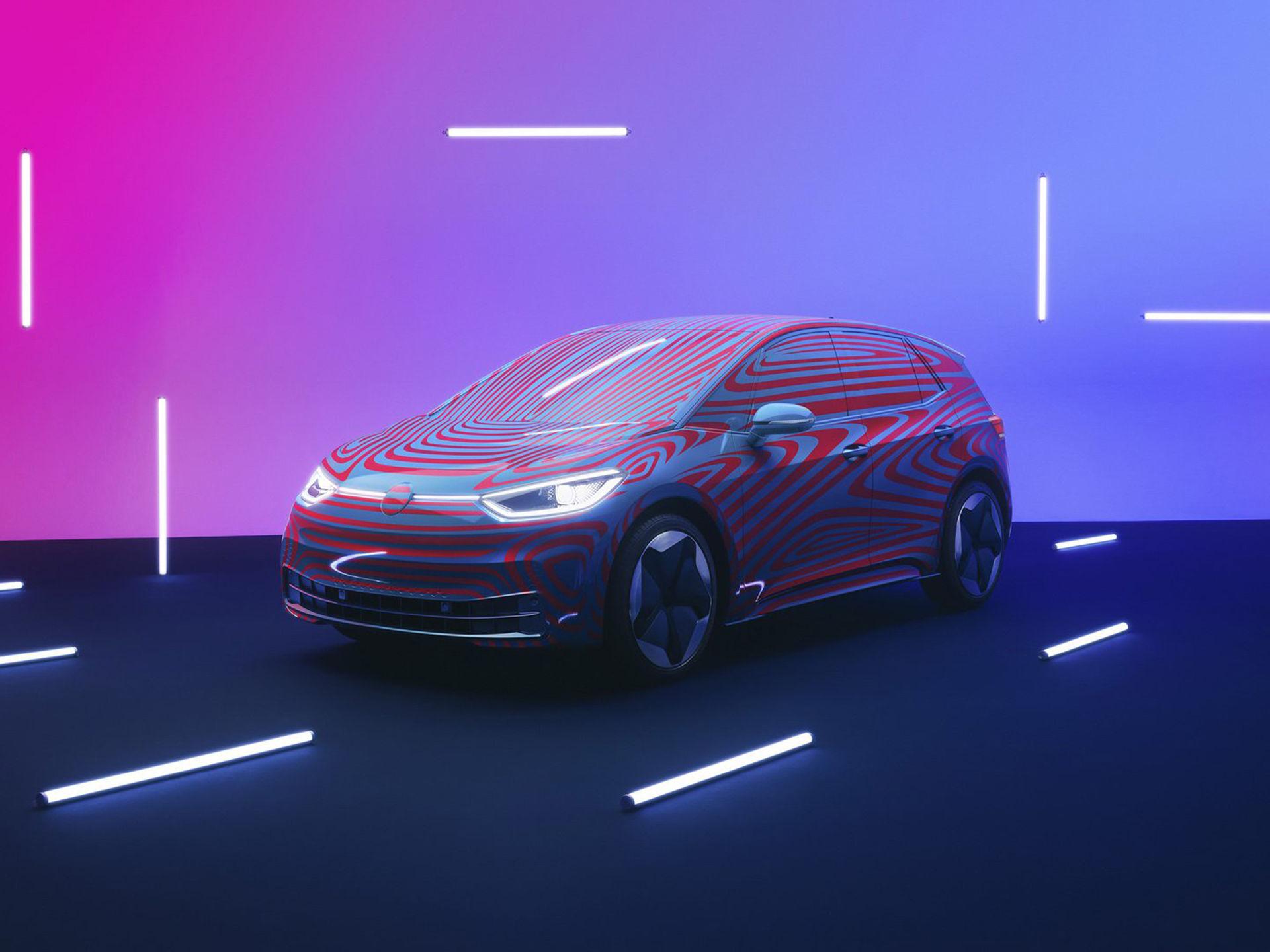 Namnet på Volkswagens nya elbil är ID.3