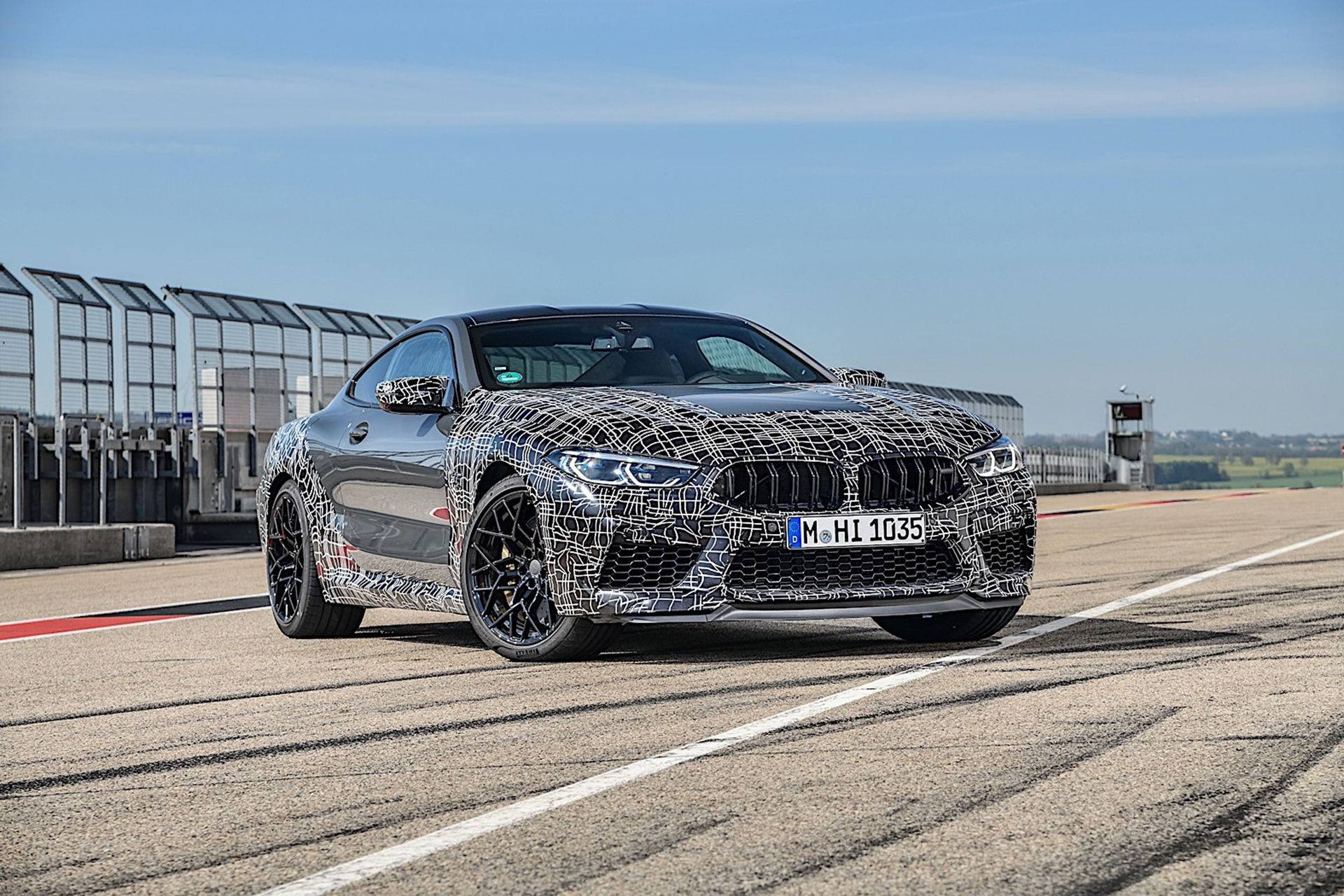 BMW M8 får ett helt nytt kontrollsystem