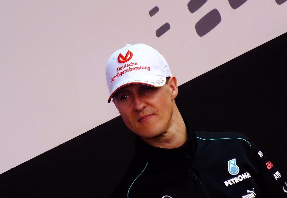 Dokumentärfilm om Michael Schumacher på gång