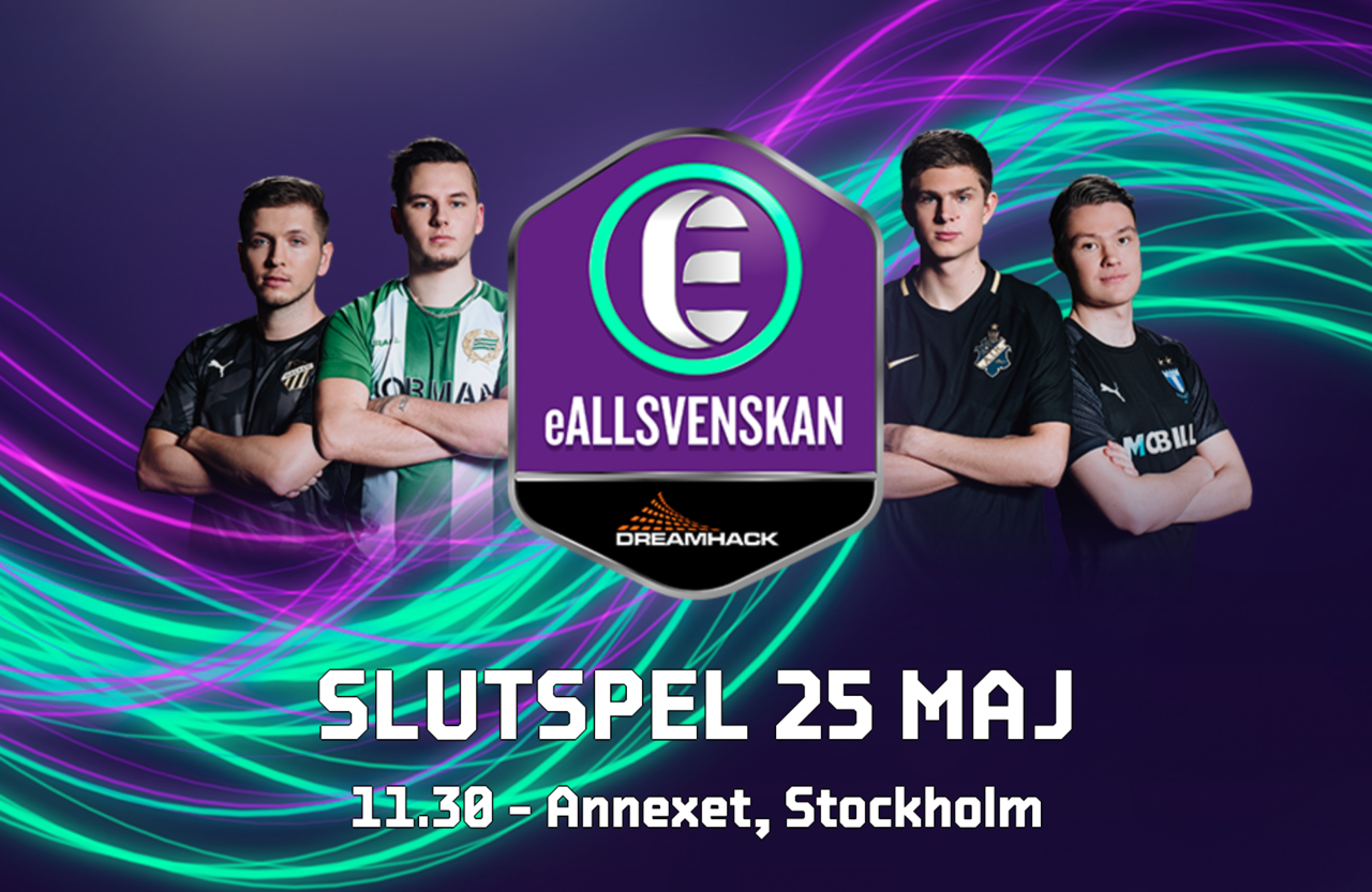 Snart dags för final i eAllsvenskan