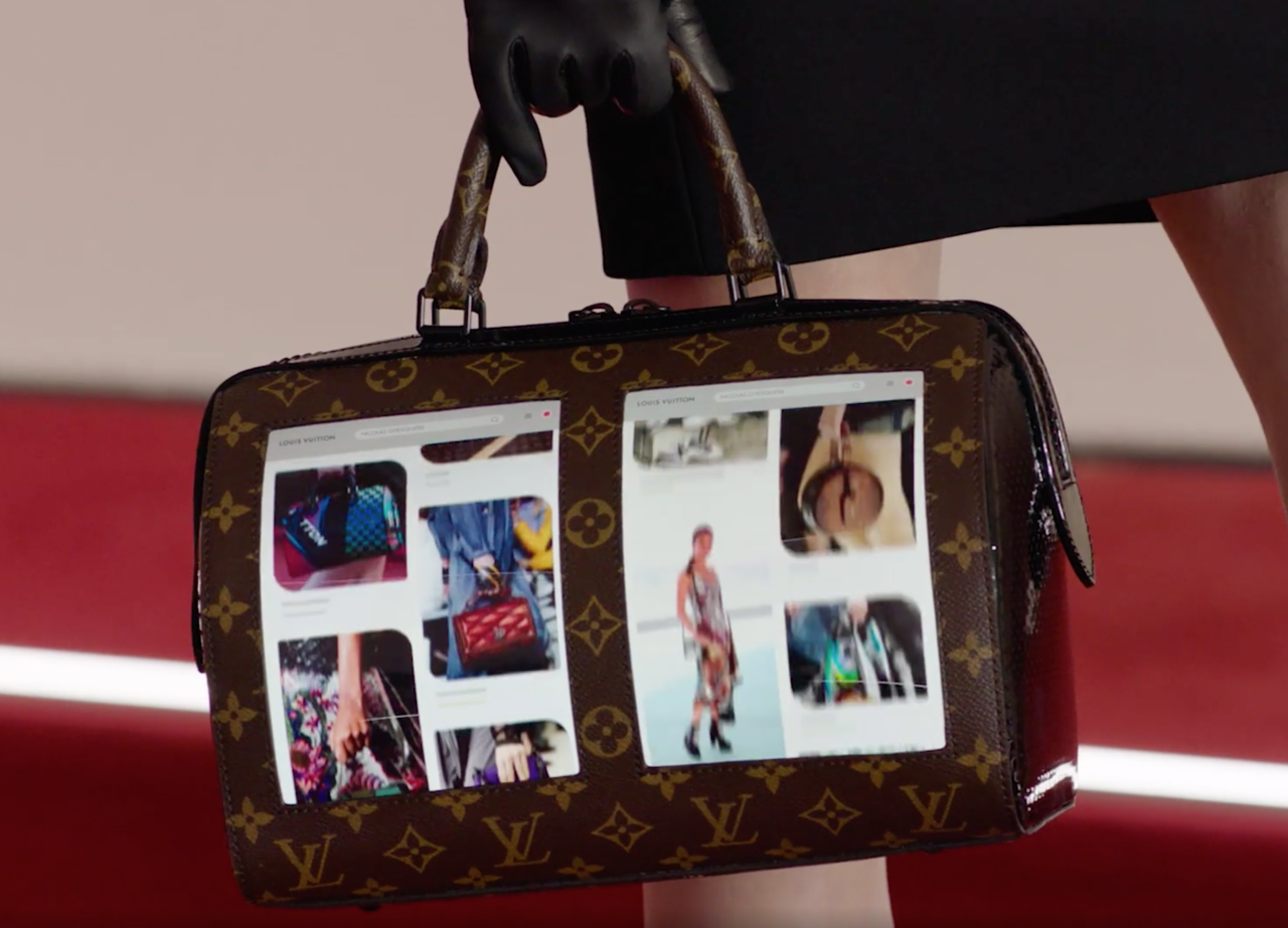 Louis Vuitton släpper handväska med inbyggda skärmar