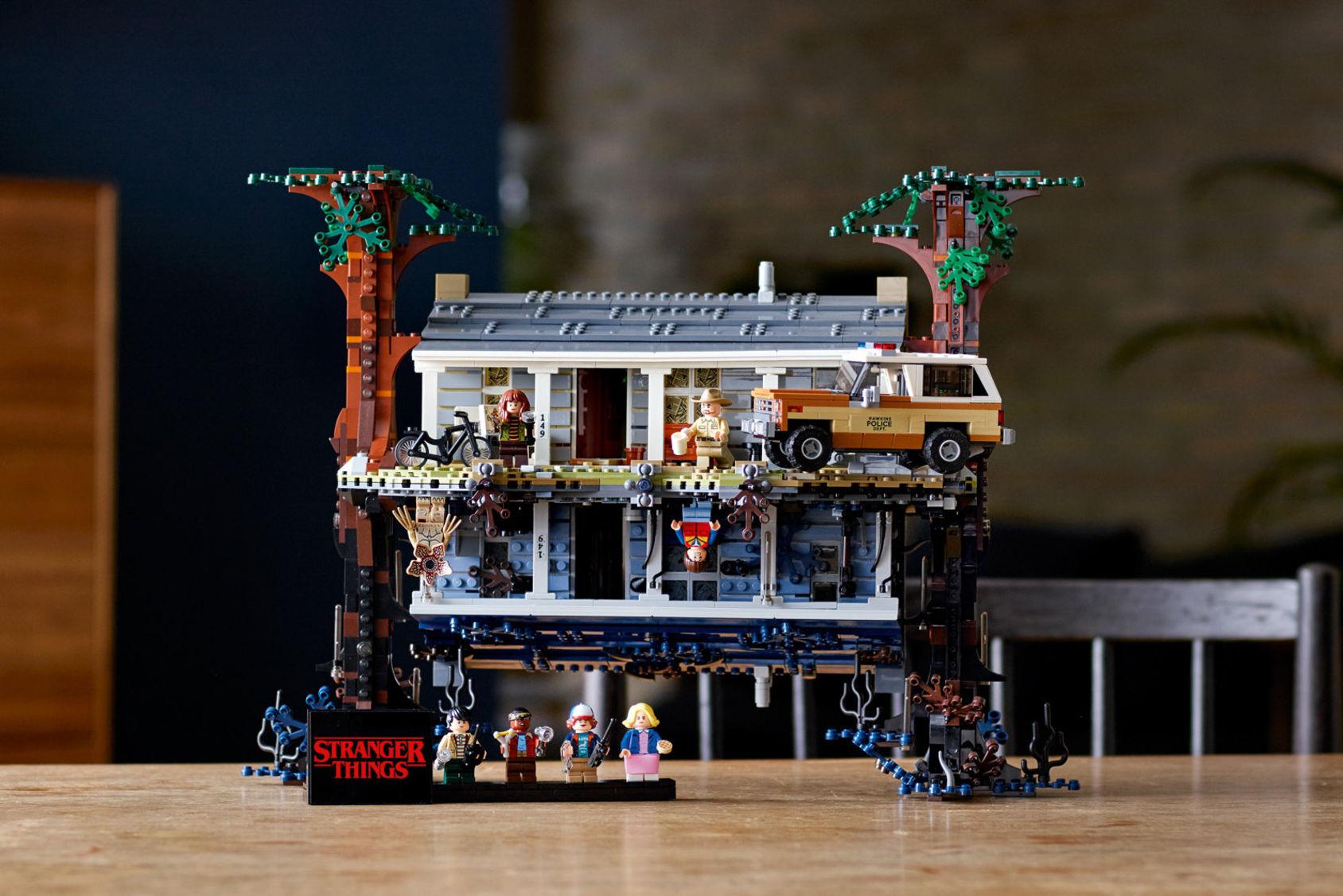 Nu kommer Stranger Things som LEGO