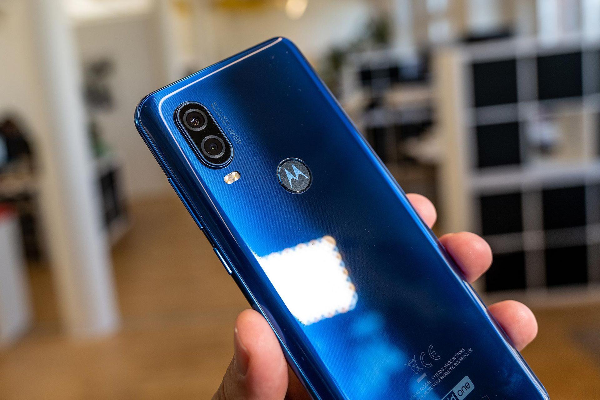 Vi har pillat på Motorola One Vision
