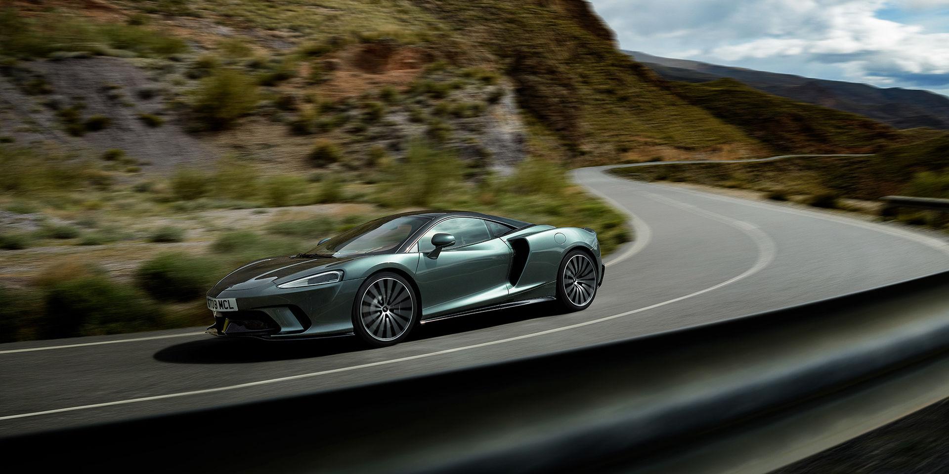 McLaren rullar ut nya modellen GT