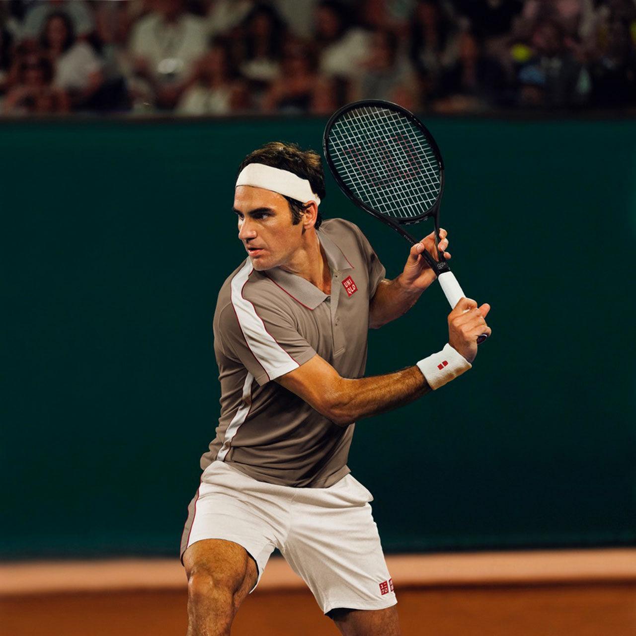 Köp Roger Federers och Kei Nishikoris matchställ