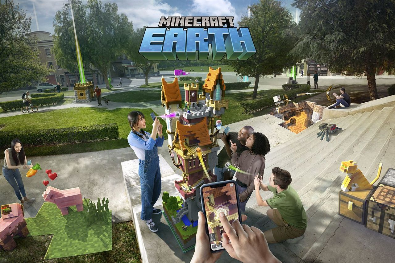 Minecraft Earth är en augmented reality-version av Minecraft