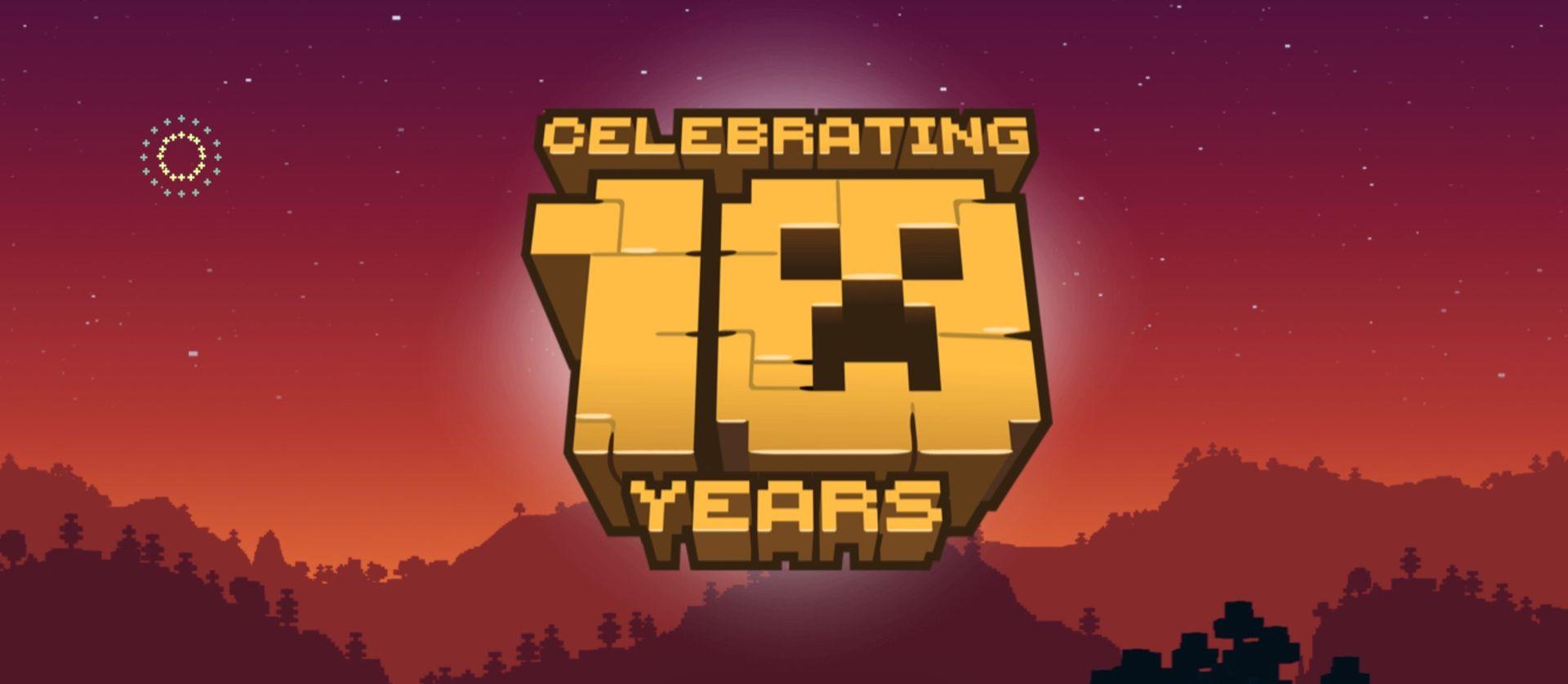 Tut i luren - idag är det 10 år sedan Minecraft släpptes!