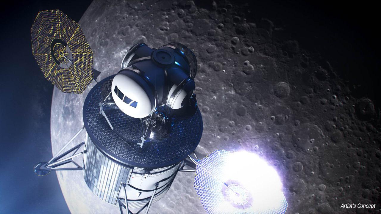 NASA utser företag som ska hjälpa till med nästa månlandning