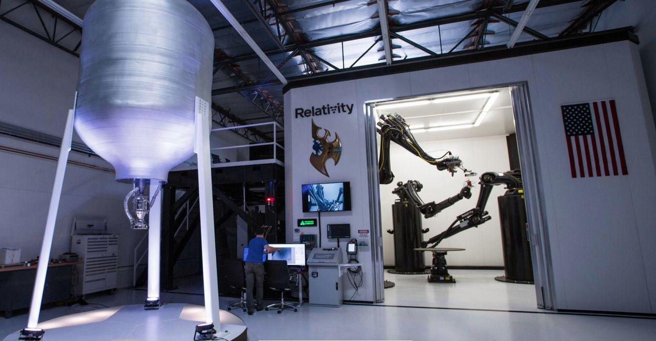 Relativity Space ska skriva ut en raket i 3D-skrivare