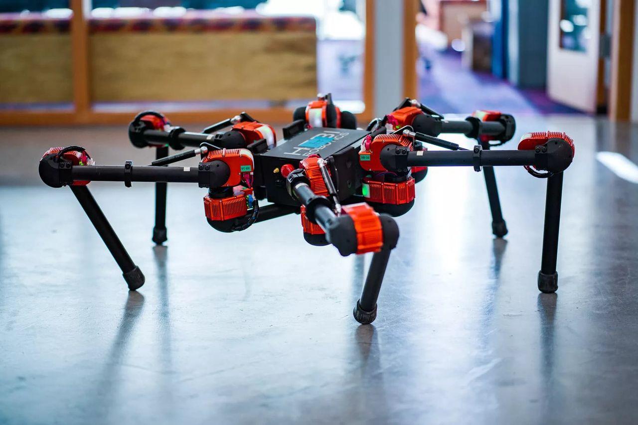 Facebook experimenterar med robotar