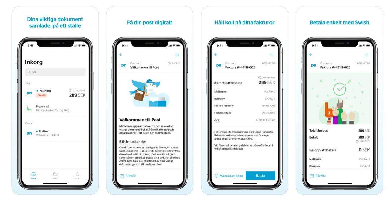 Postnord lanserar den digitala brevlådan Post