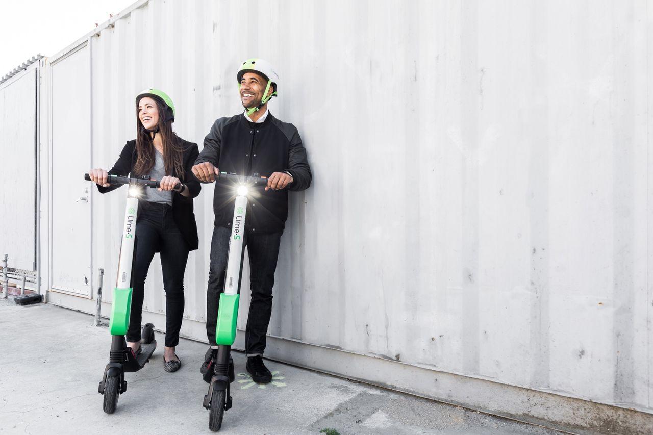 Ta en elsparkcykel till vallokalen på söndag
