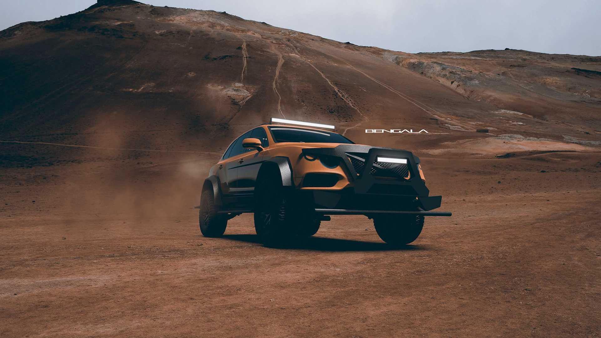 Spanskt företag presenterar hårdare Bentley Bentayga