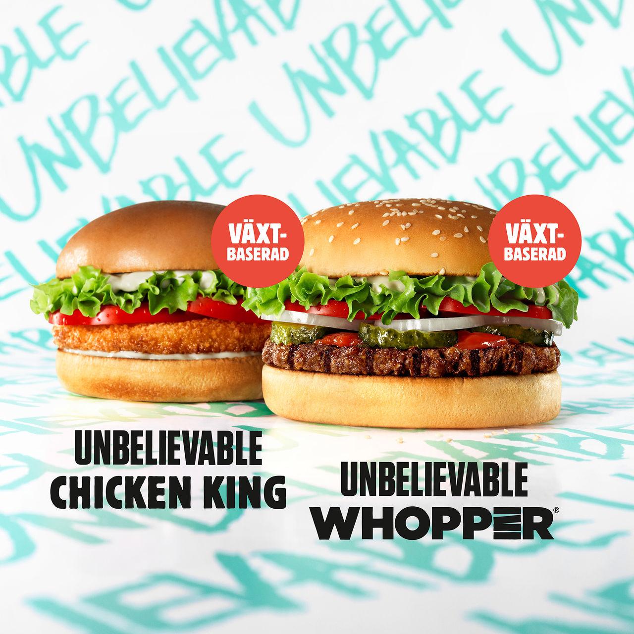 Burger Kings köttlösa burgare släpps imorgon