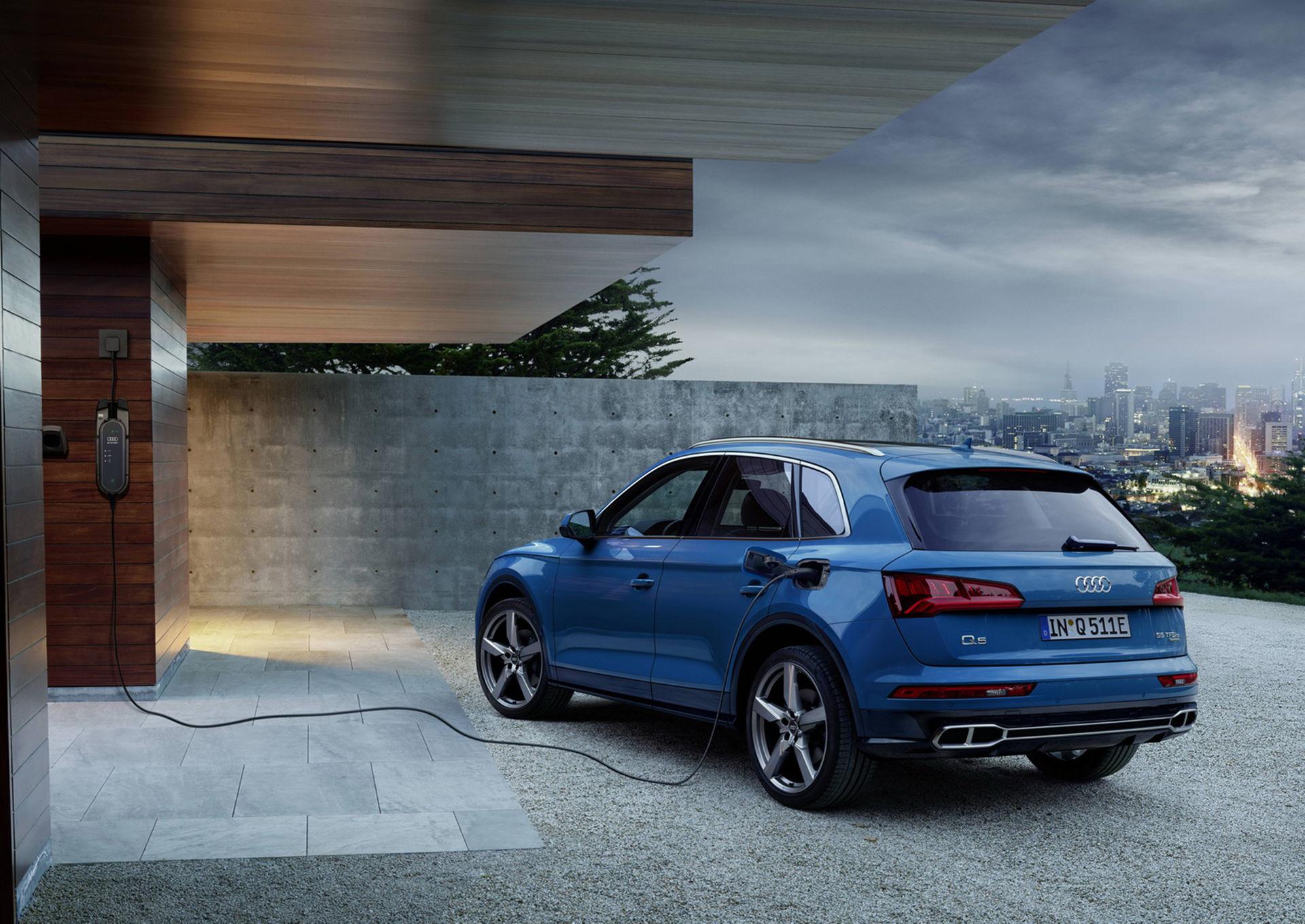 Audi Q5 nu som laddhybrid