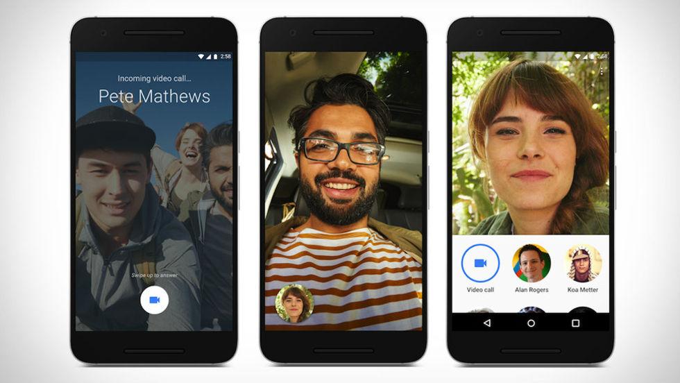 Google Duo får stöd för åtta personer i gruppsamtal