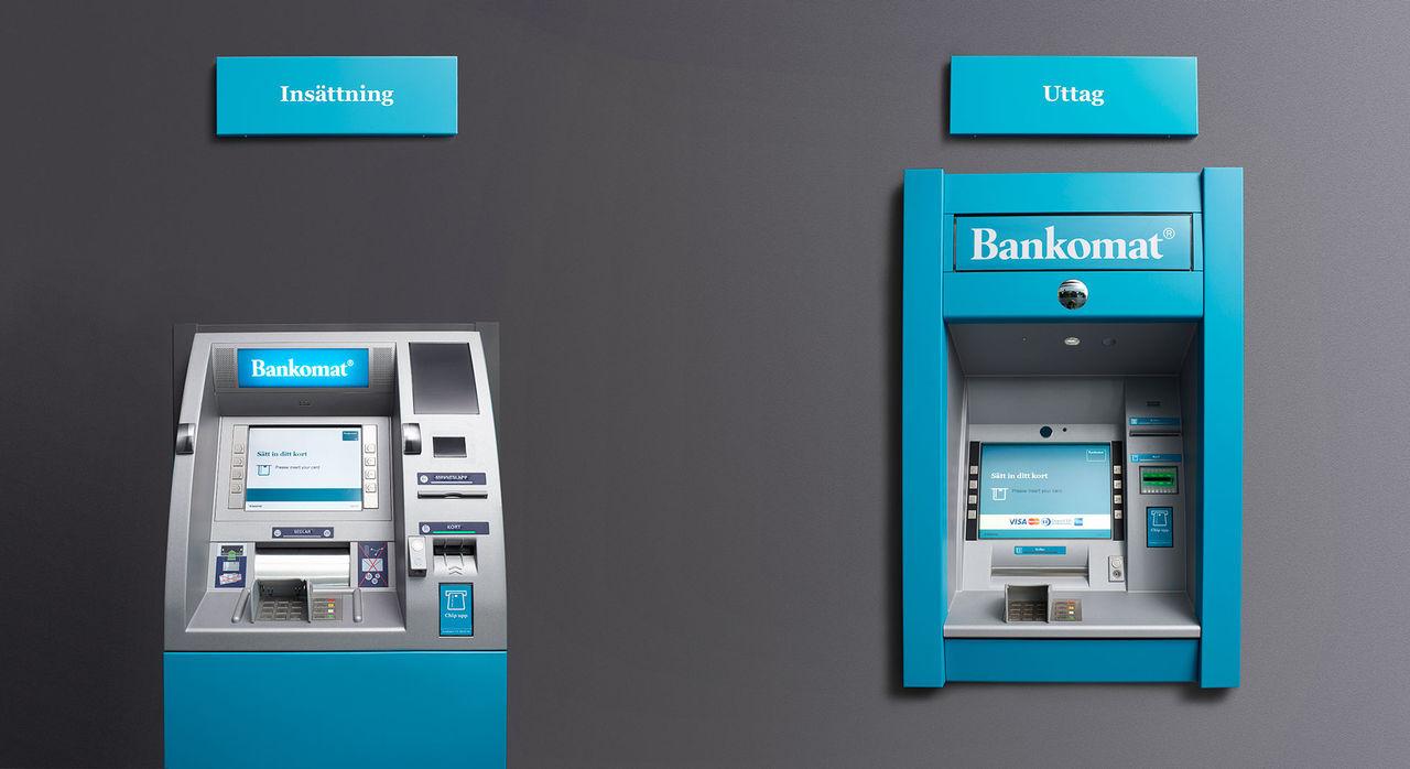Svenska banker funderar på att införa Bankomat-avgift