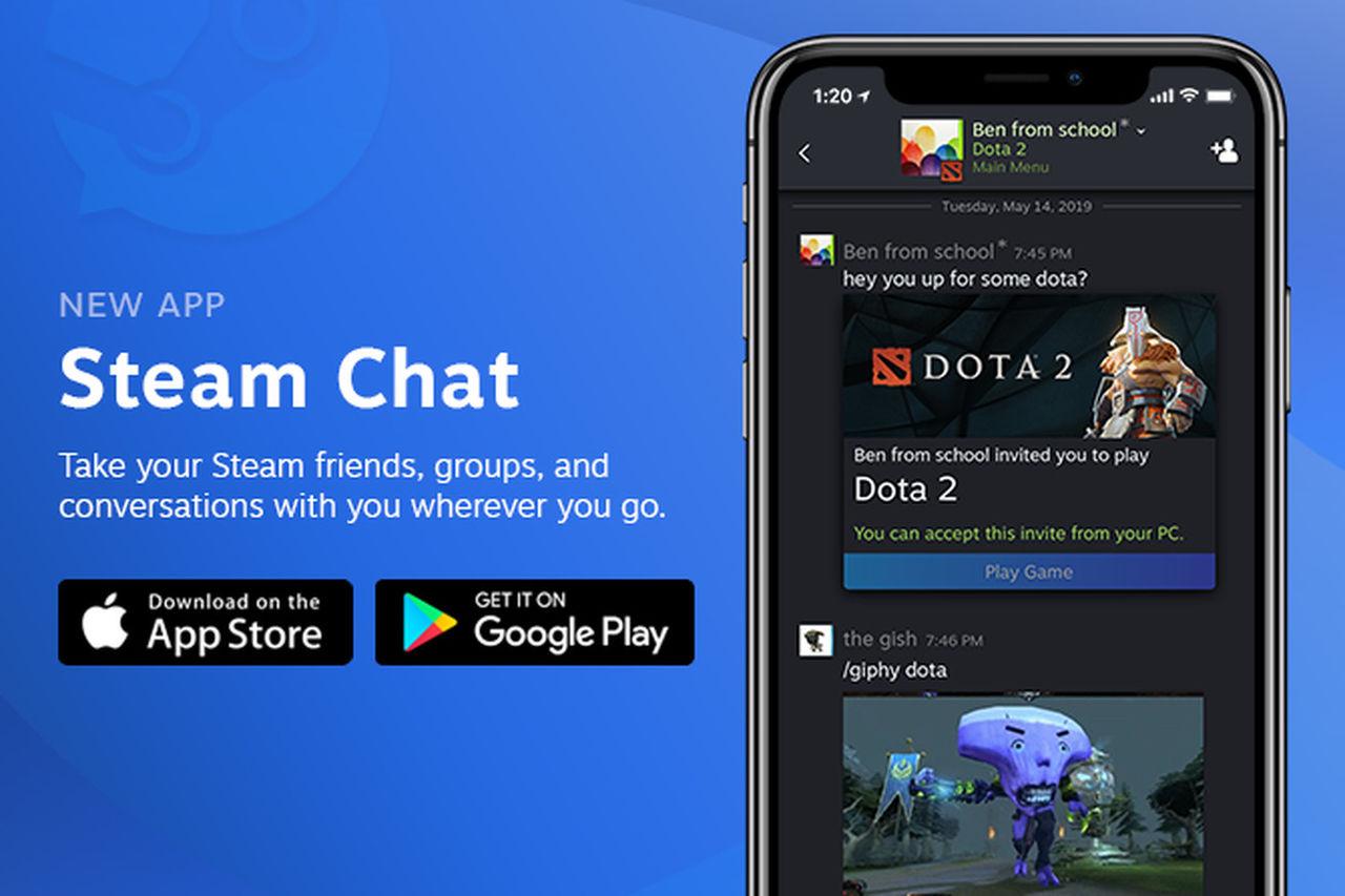 Valve släpper Steam Chat till iOS och Android