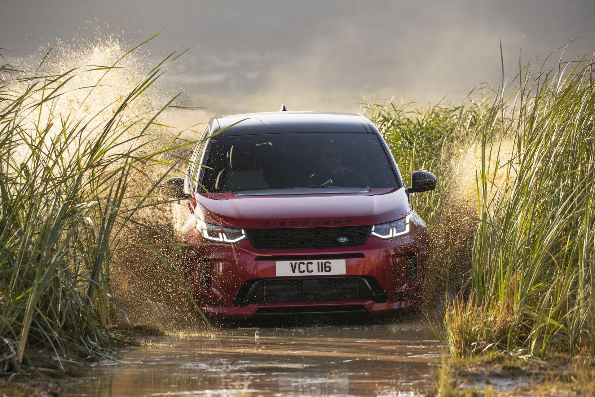 Land Rover Discovery Sport får sig ett lyft