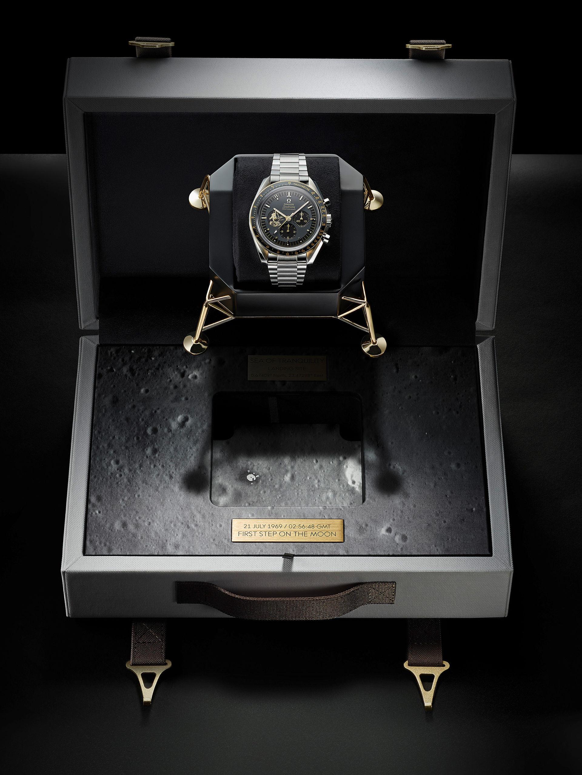 Omega firar 50 år sedan månlandningen