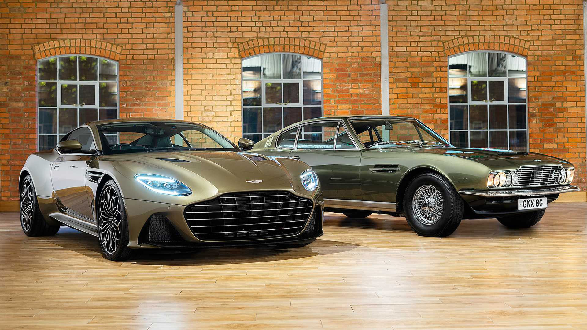 Specialversion av Aston Martin DBS Superleggera