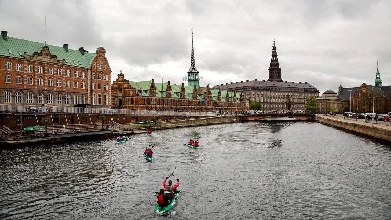 Paddla kajak gratis på Europas floder
