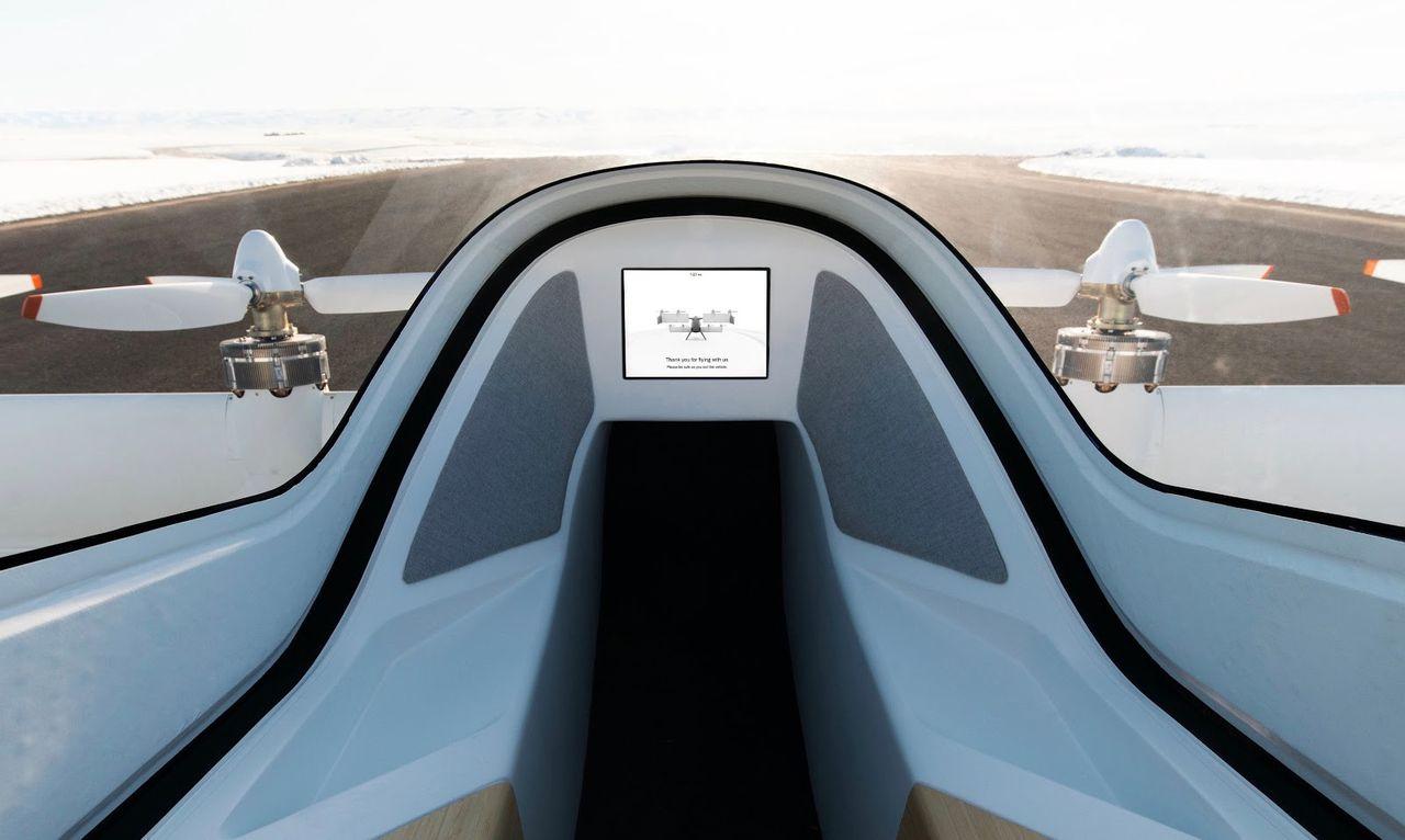 Airbus visar upp lite mer av sin flygande taxi Vahana