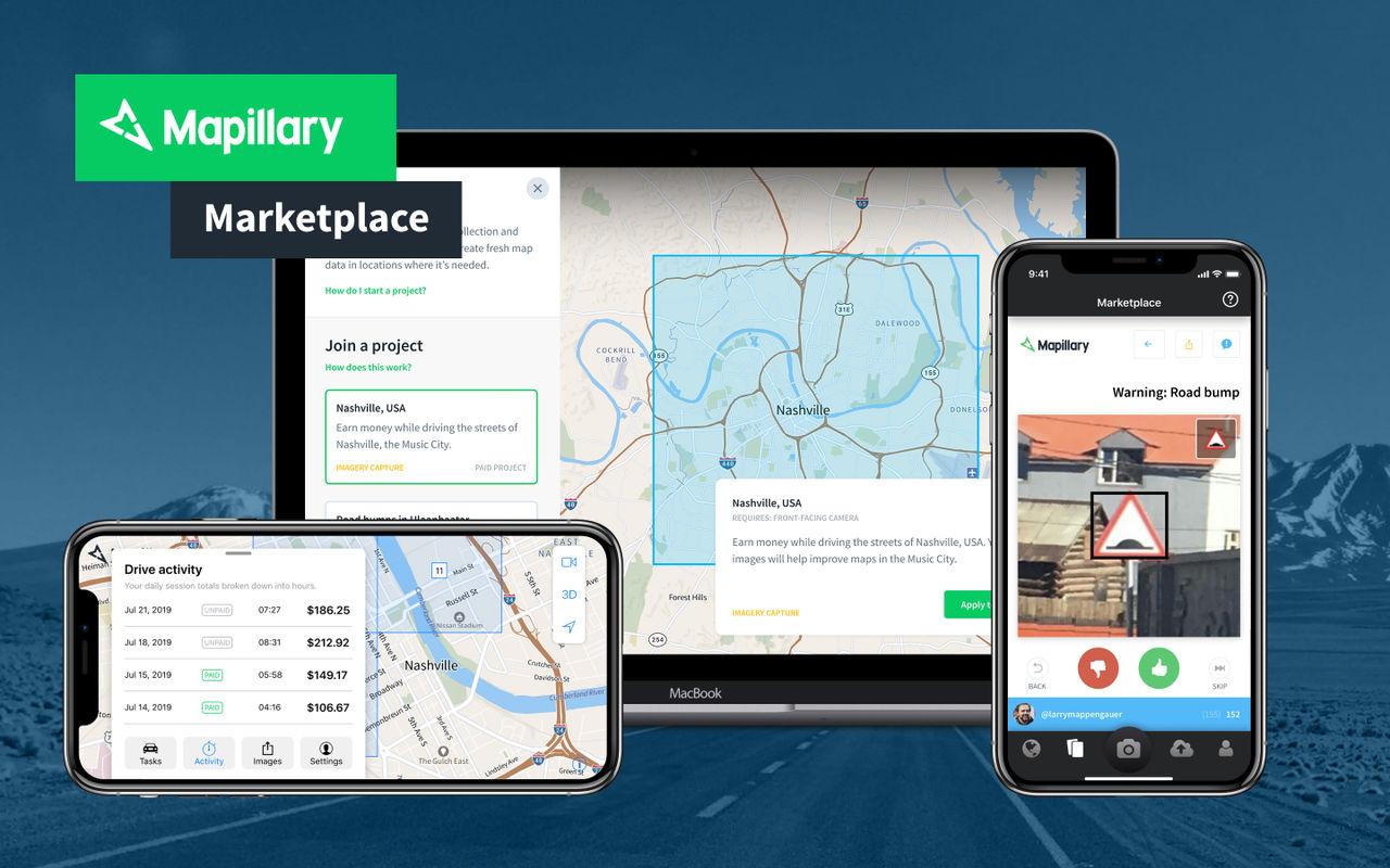 Svenska Mapillary skapar marknadsplats för gatubilder