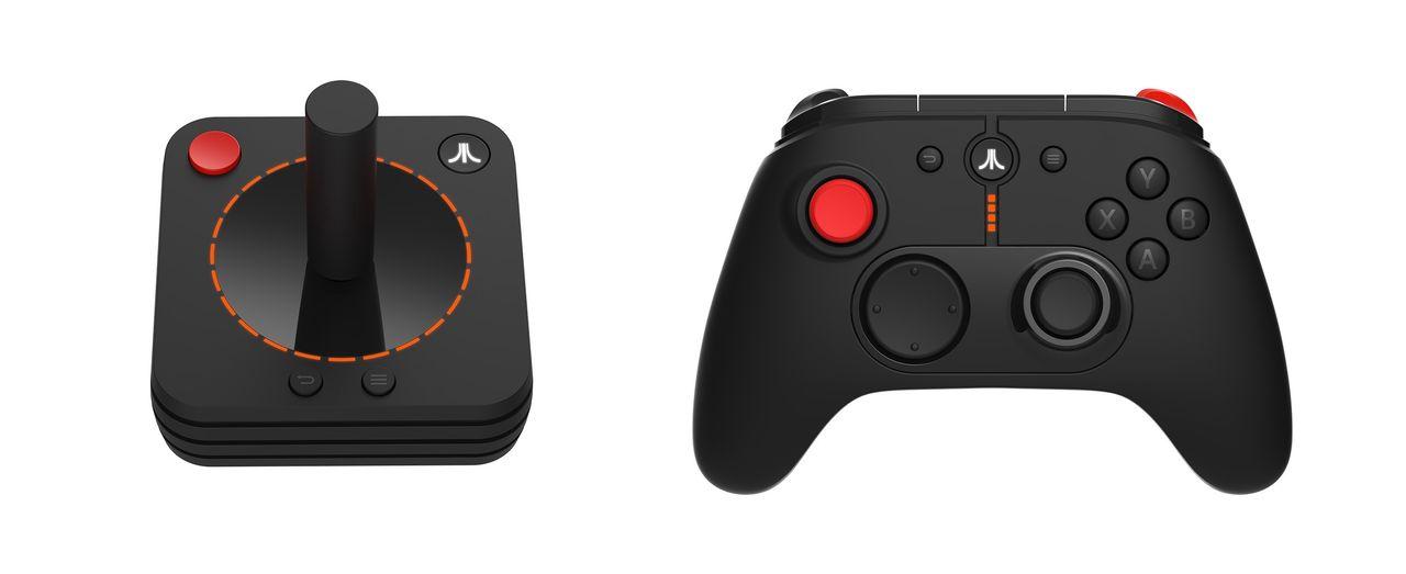 Atari visar upp spelkontroller till Atari VCS
