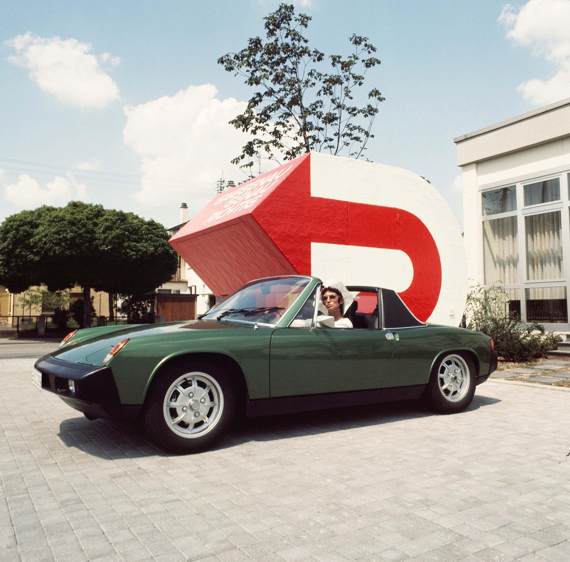 50 år sedan Porsche presenterade 914