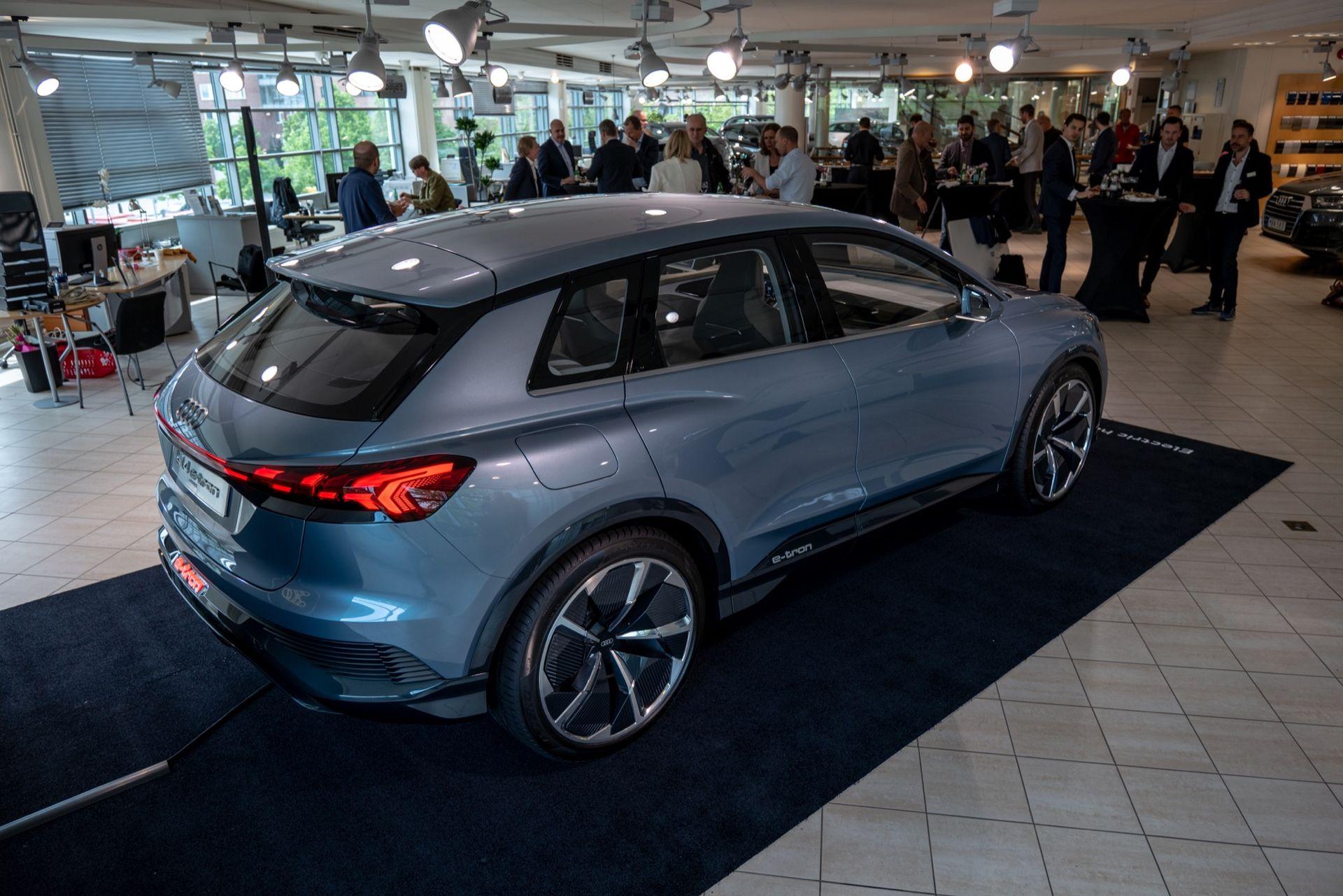 Vi har kollat in Audi Q4 e-tron concept