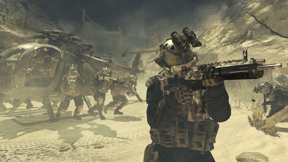Årets Call of Duty-spel heter Call of Duty: Modern Warfare