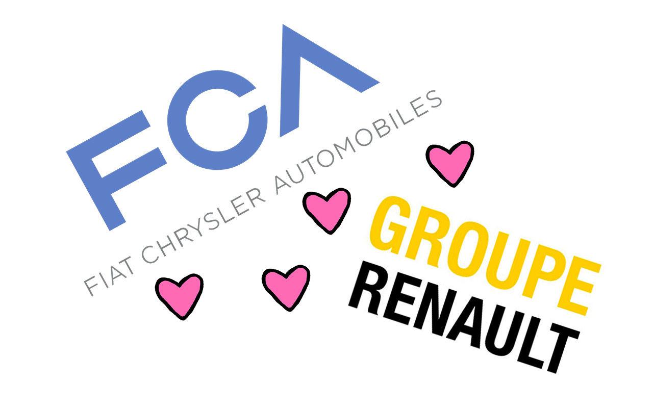 FCA och Renault kanske slår sina påsar ihop