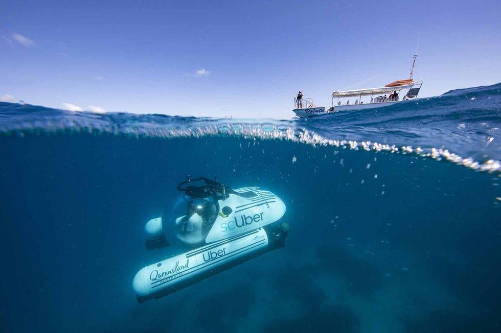 Uber börjar med ubåtar
