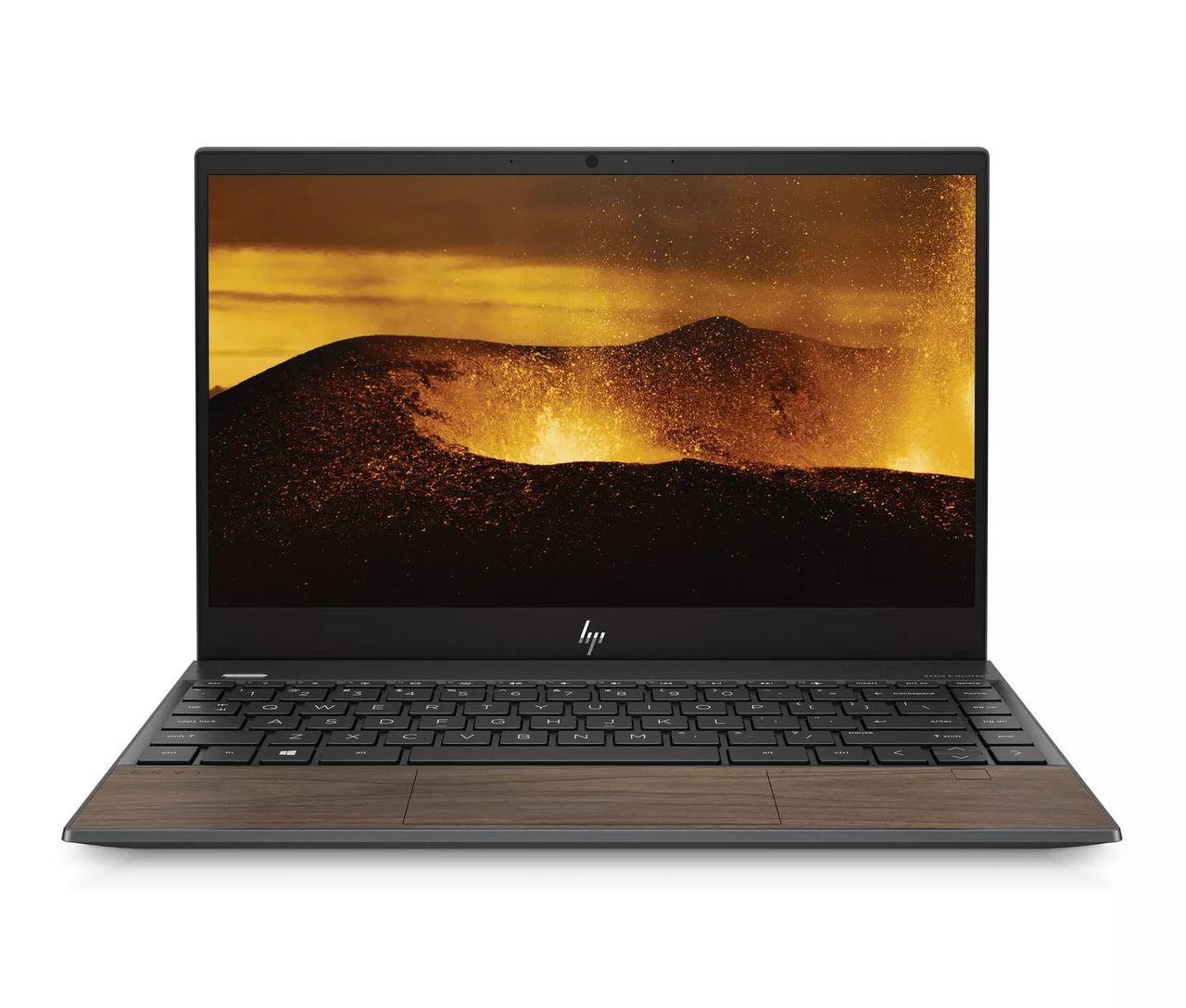 HP satsar på laptops i trä