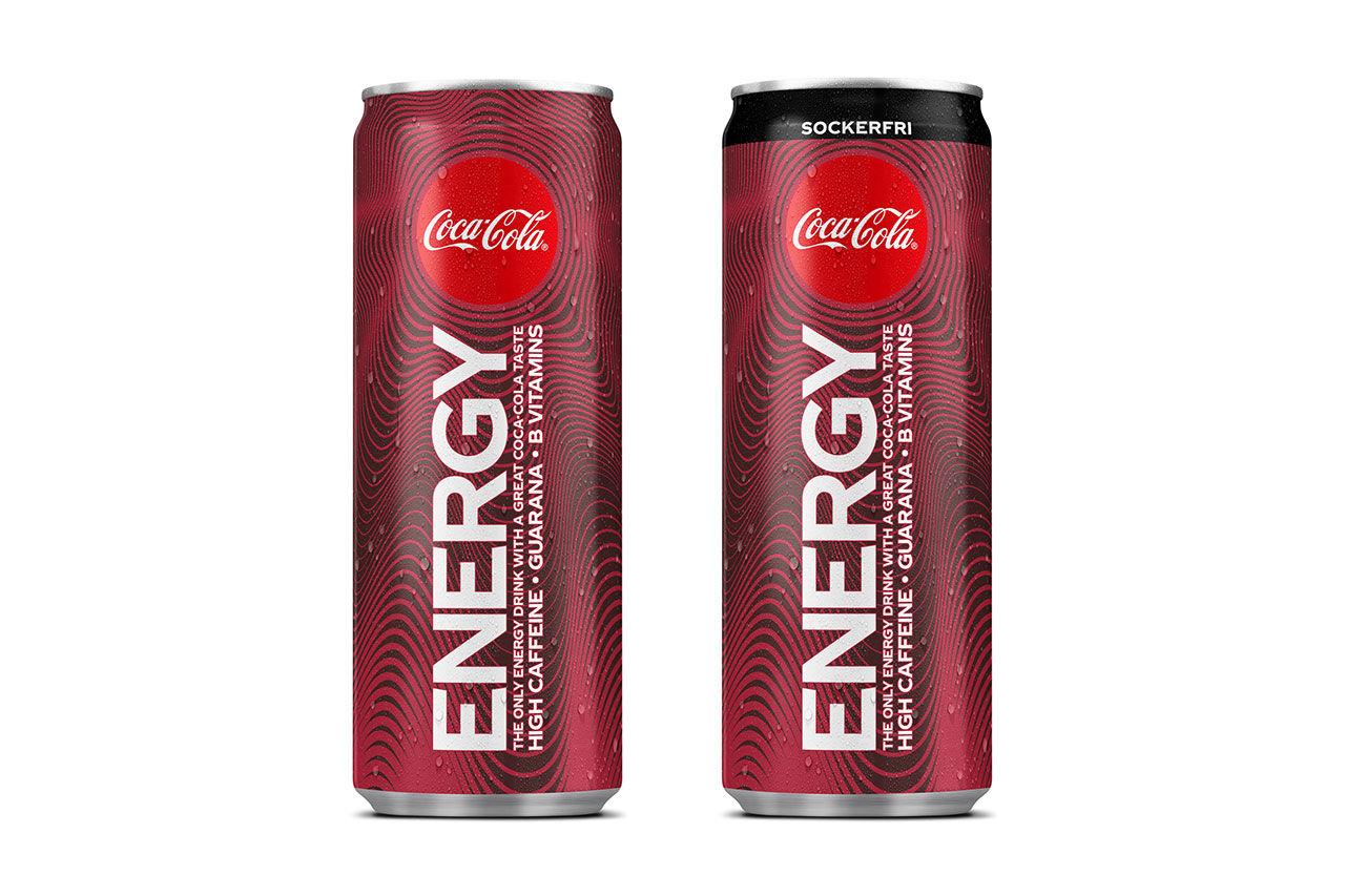 Coca-Cola lanserar energidryck i Sverige
