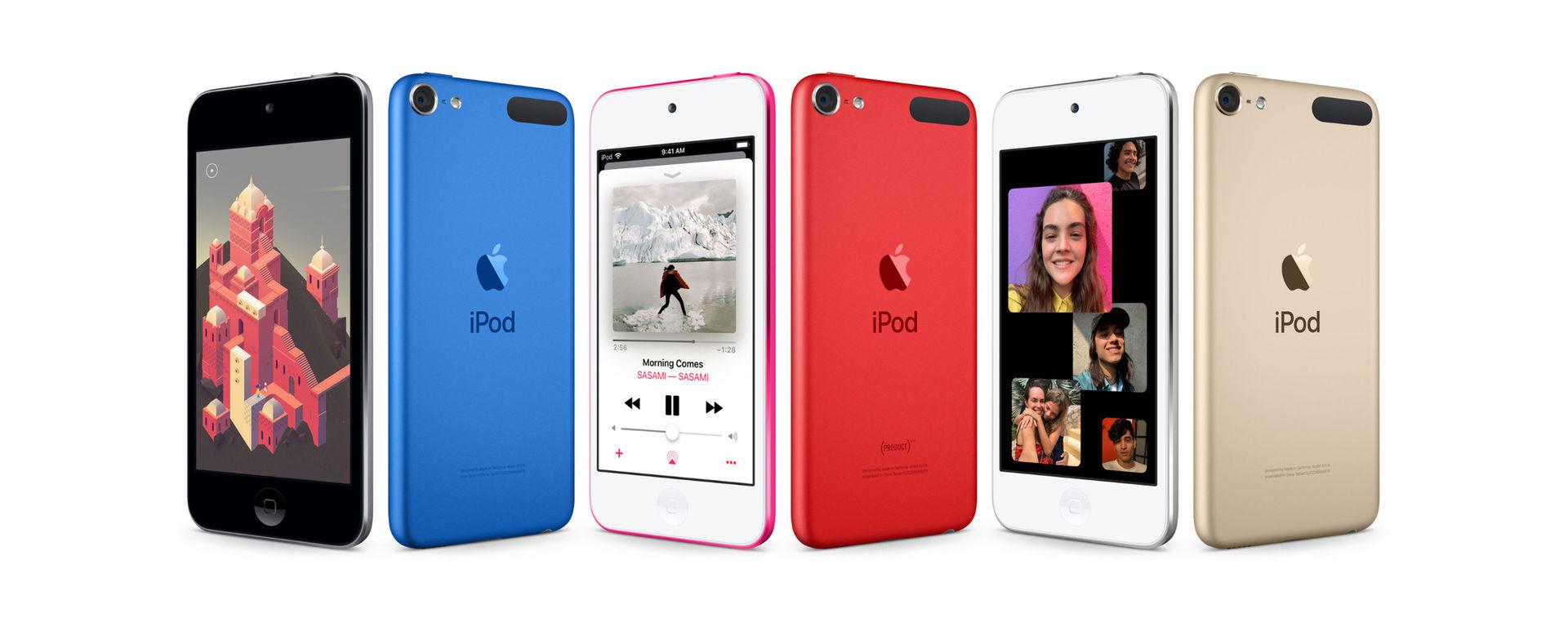Apple uppdaterar iPod Touch
