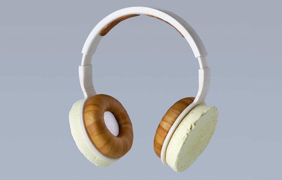 Aivan Korvaa är ett par hörlurar tillverkade av svamp