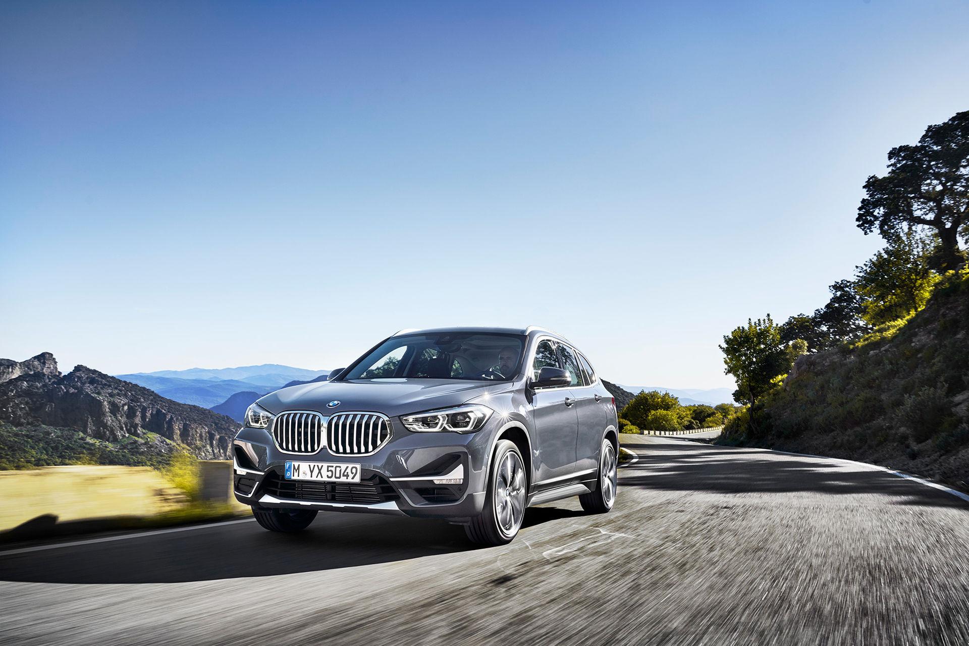 BMW lyfter X1