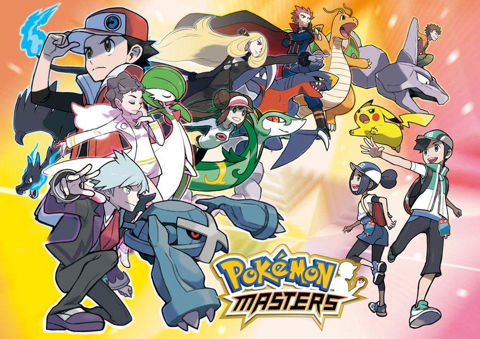 Slåss mot gymledare i Pokémon Masters