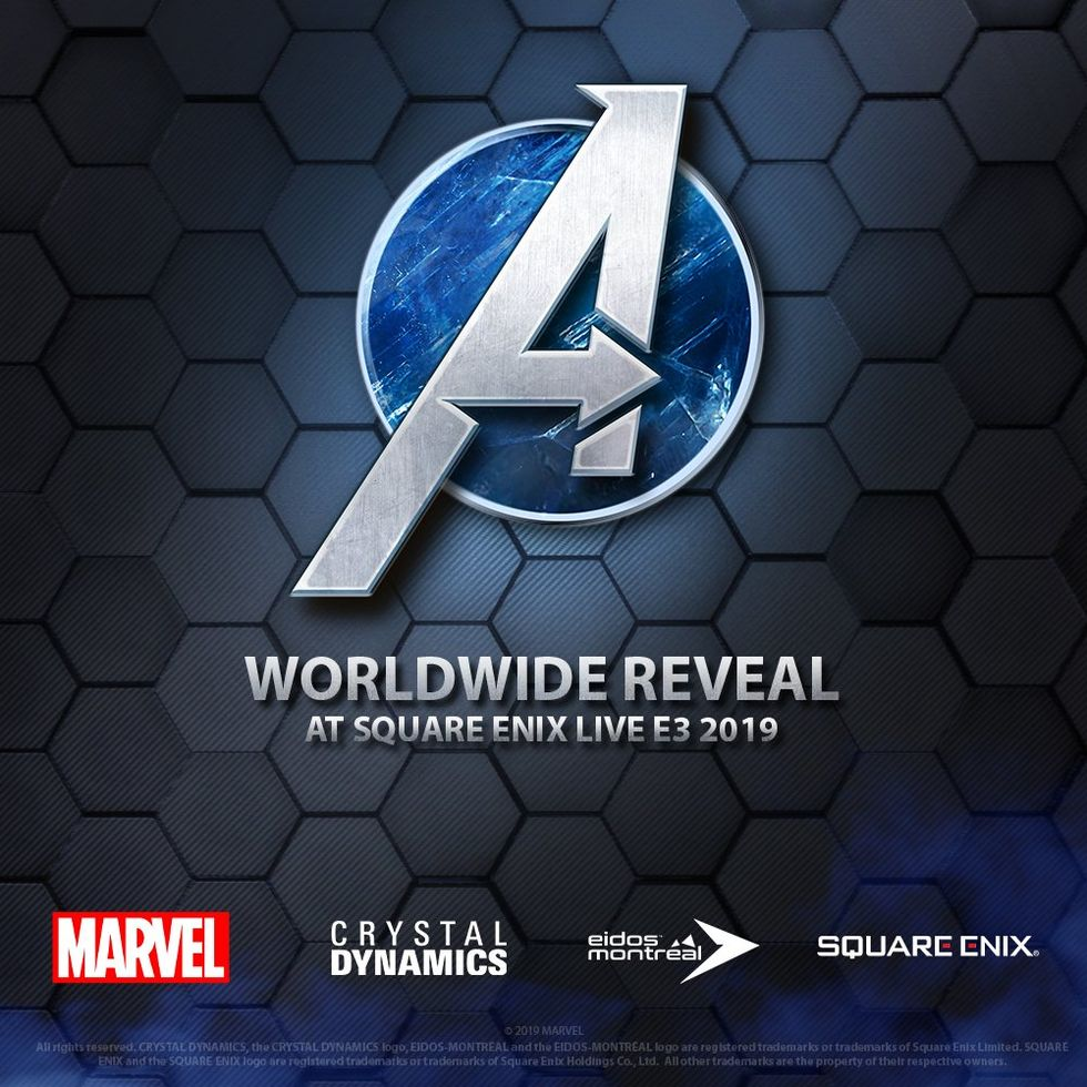 Square Enix presenterar Avengers-spel 10 juni