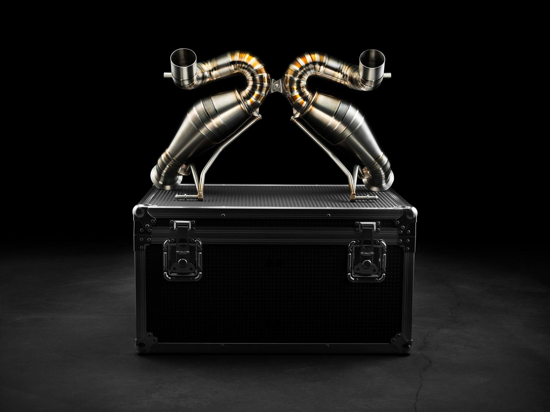 Valentino Balboni släpper avgassystem till Aventador SVJ