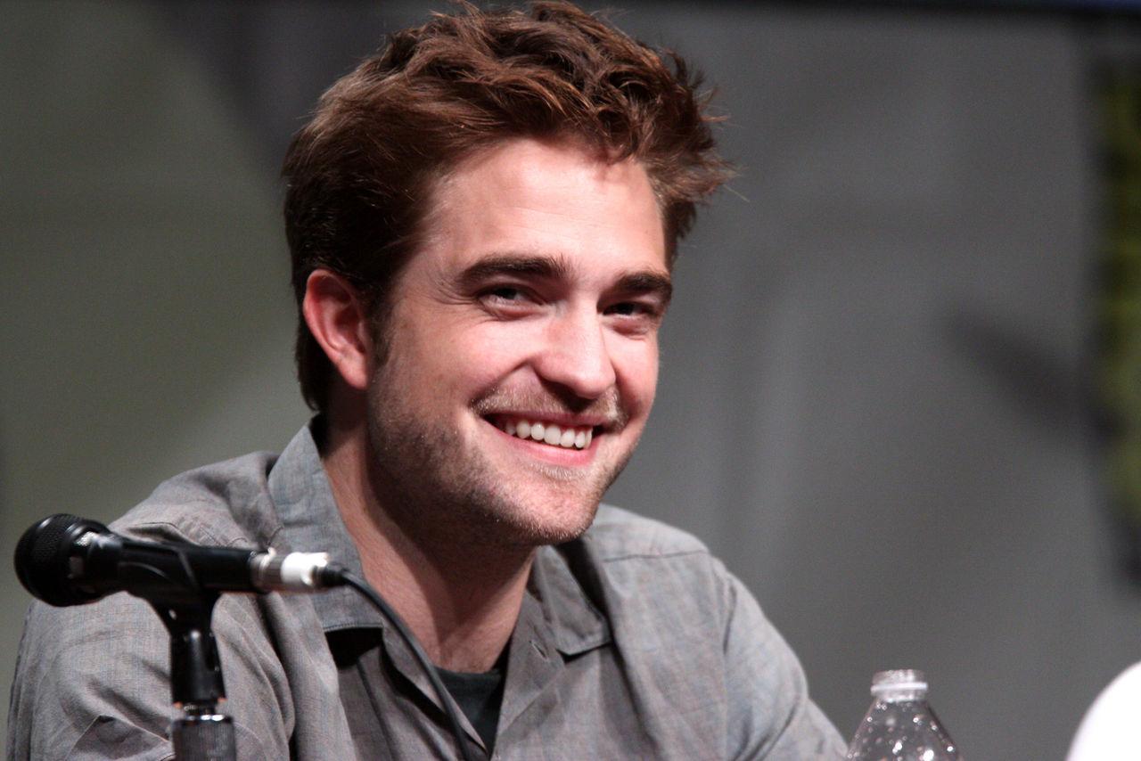 Robert Pattinson är Batman